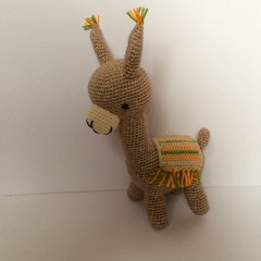 Llama,  crochet, toy, baby, nursery, gift, Amigurumi, baby shower