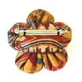 Handmade Fabric Flower Brooch for Women / Gift for Mum