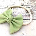 Soft Baby Headband in Shades of Green - Pale Green, Green, Aqua