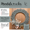 DIY Macrame Mandala Kit - Make your own macrame mandala