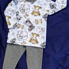 Baby Tee and Leggings Set Size 00