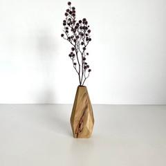 Wooden Vase, Flower bud vase, Housewarming gift, Stick vase, Dried flowers, Tabl
