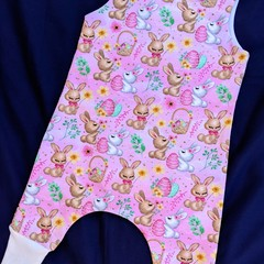 Baby Girl Bunny Romper Sizes 000, 00, 0,and 1