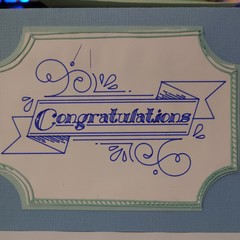 Handmade Congratulations Card