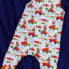 Baby Bunny Harem Romper Sizes 000 and 0