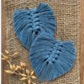 DIY Macrame Feather Earrings Kit (makes 2 pairs)
