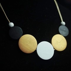 Business in Bronze Necklace