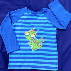 Cool Dragon Long Sleeve T-Shirt - Sizes 4, 5