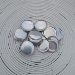 (Size 60 ~ 38mm) 25 x FLAT Back Self Cover Buttons