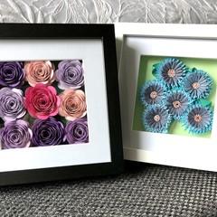 3D Flower frame