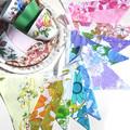 Vintage Retro 'Rainbow Floral' Flag Bunting