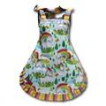 Over the Rainbow girls apron