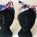 Daisy Flower Mummy & Me Matching Boho Wire Headband, Wire Headscarf