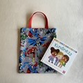 DC Comics inspired Tote Bag / Library Bag (Fully Lined)