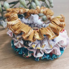 Small Scrunchies Set of 4