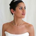 Swarovski Crystal Bridal Earrings, Wedding Earrings,  bride crystal earrings