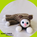 Cedric the Cat Crochet Toy