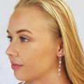 Crystal Swarovski Drop Earrings Bridesmaid Wedding Prom Formal Bridal Kristall