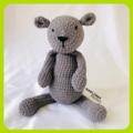 Penelope the Bear Crochet Plushy Toy