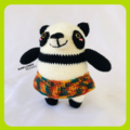 Lola the Panda Crochet Toy