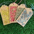 Gift Tags - set of 4
