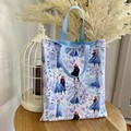 Frozen  inspired Tote Bag / Library Bag (Fully Lined)