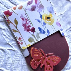 3 Butterfly gift tags