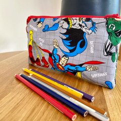 DC Comic Inspired Pencil Case