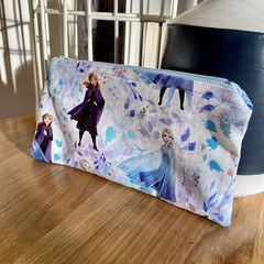 Frozen Inspired Pencil Case