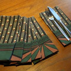 Cloth Napkins (set of 6), Reusable,