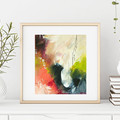 Original Modern Art, Abstract Art Painting, Peace of Mind, Ready to Frame
