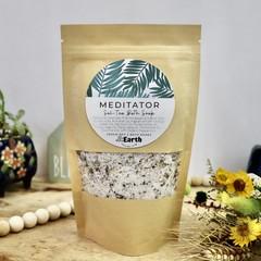 Meditator - Bath Soak   Botanical Bath Salt   Herbal Bath   with Bath Tea Bag