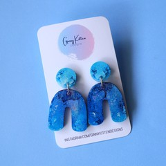 Blue and Purple Coral Garden Arch Dangles