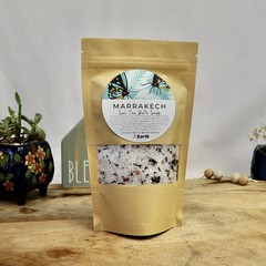 Marrakech - Bath Soak | Botanical Bath Salt | Herbal Bath | with Bath Tea Bag