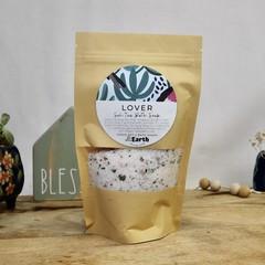 Lover - Bath Soak   Botanical Bath Salt   Herbal Bath   with Bath Tea Bag