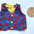 Dr Seuss reversible waistcoat vest