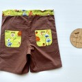 In the woods brown boys shorts