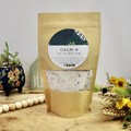Calm-A Calming Bath Soak | Botanical Bath Salt | Herbal Bath | with Bath Tea Bag