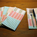 Cloth Napkins (set of 6), Reusable,