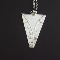 Sterling Silver  Pattern Pendant