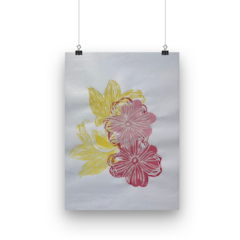 Abstract floral print 2021