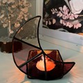 Crescent Moon Candle Holder