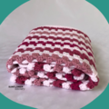 Crochet Baby Blanket - Pinks