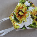 Face Covering Medium-  Sunflowers