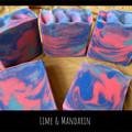 Hand Made Soap - Lime & Mandarin