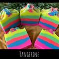 Hand Made Soap - Tangerine Neon