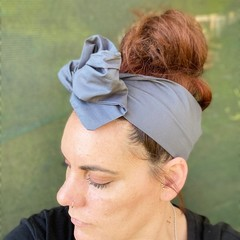 Grey Women's Adjustable Wire Headband/Headwrap Perfect Mothers Day Birthday Gift