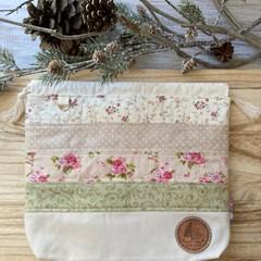 Floral patchwork bag