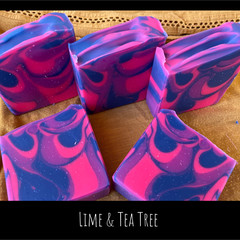 Hand Made Soap - Lime & Tea tree