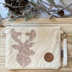 Decorative deer pouch